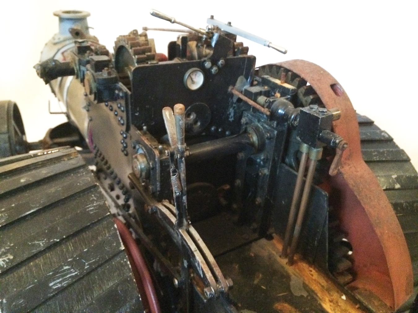 test 2 inch scale Fowler A7 Live Steam Traction Engine for sale 03