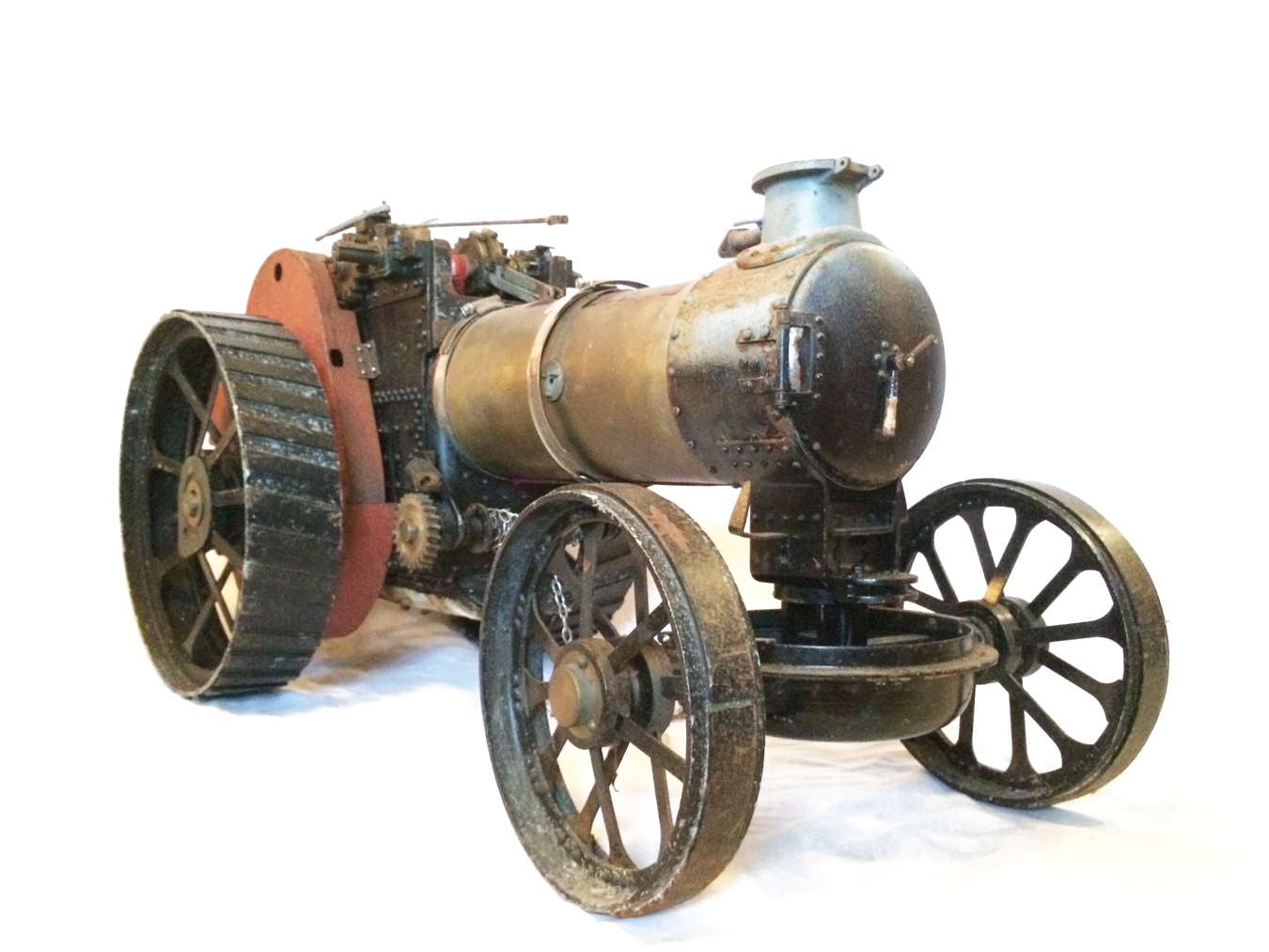 test 2 inch scale Fowler A7 Live Steam Traction Engine for sale 05