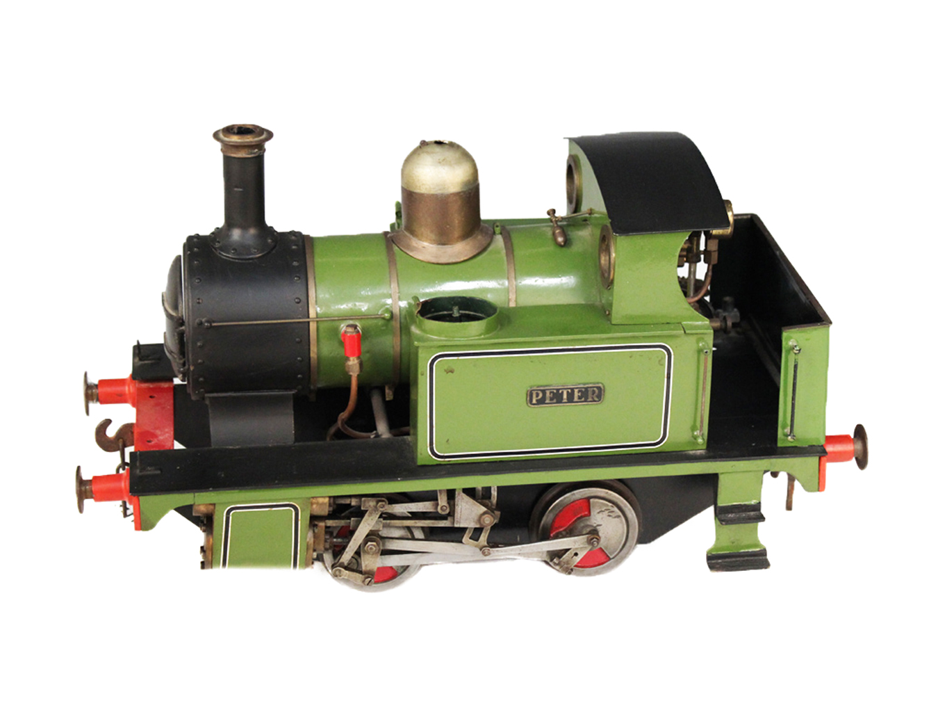 test LBSC Large Boilered Tich Live Steam for sale