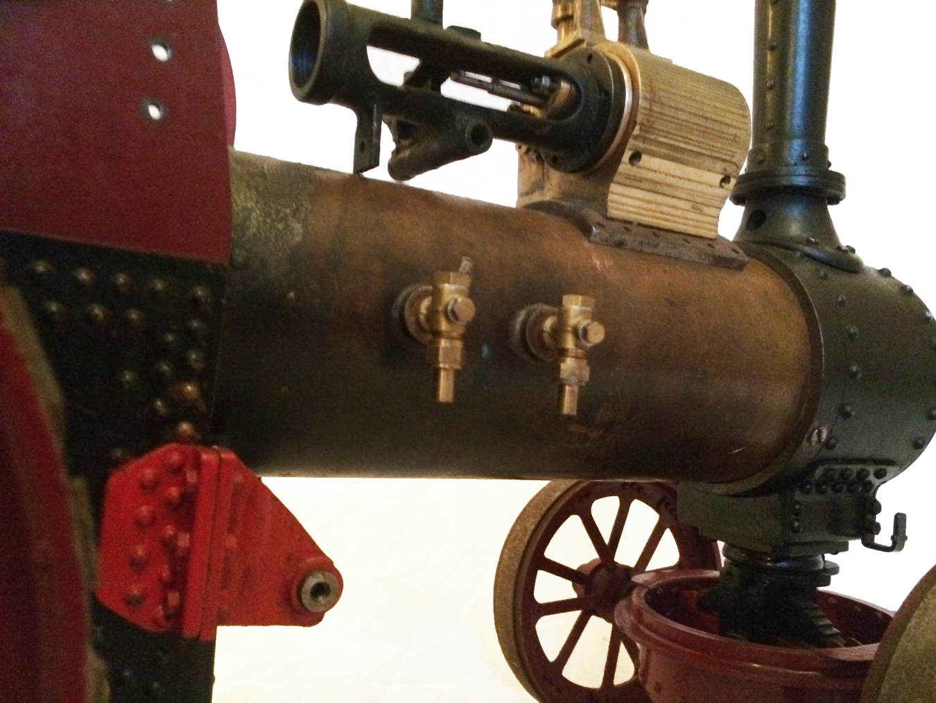test Live Steam Royal Chester Traction Engine For Sale 06
