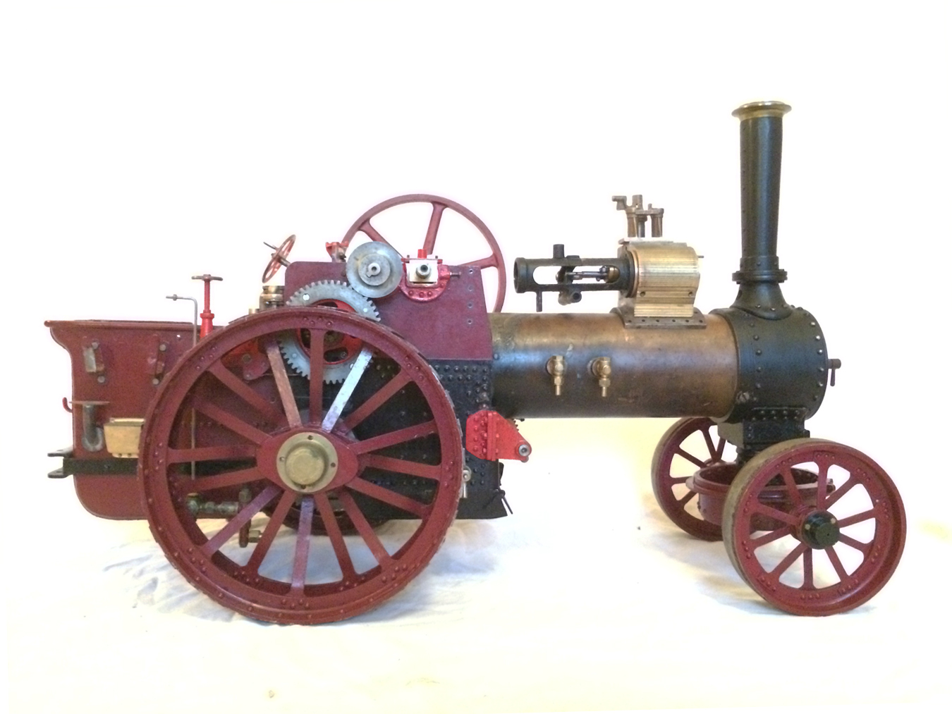test Live Steam Royal Chester Traction Engine For Sale 07