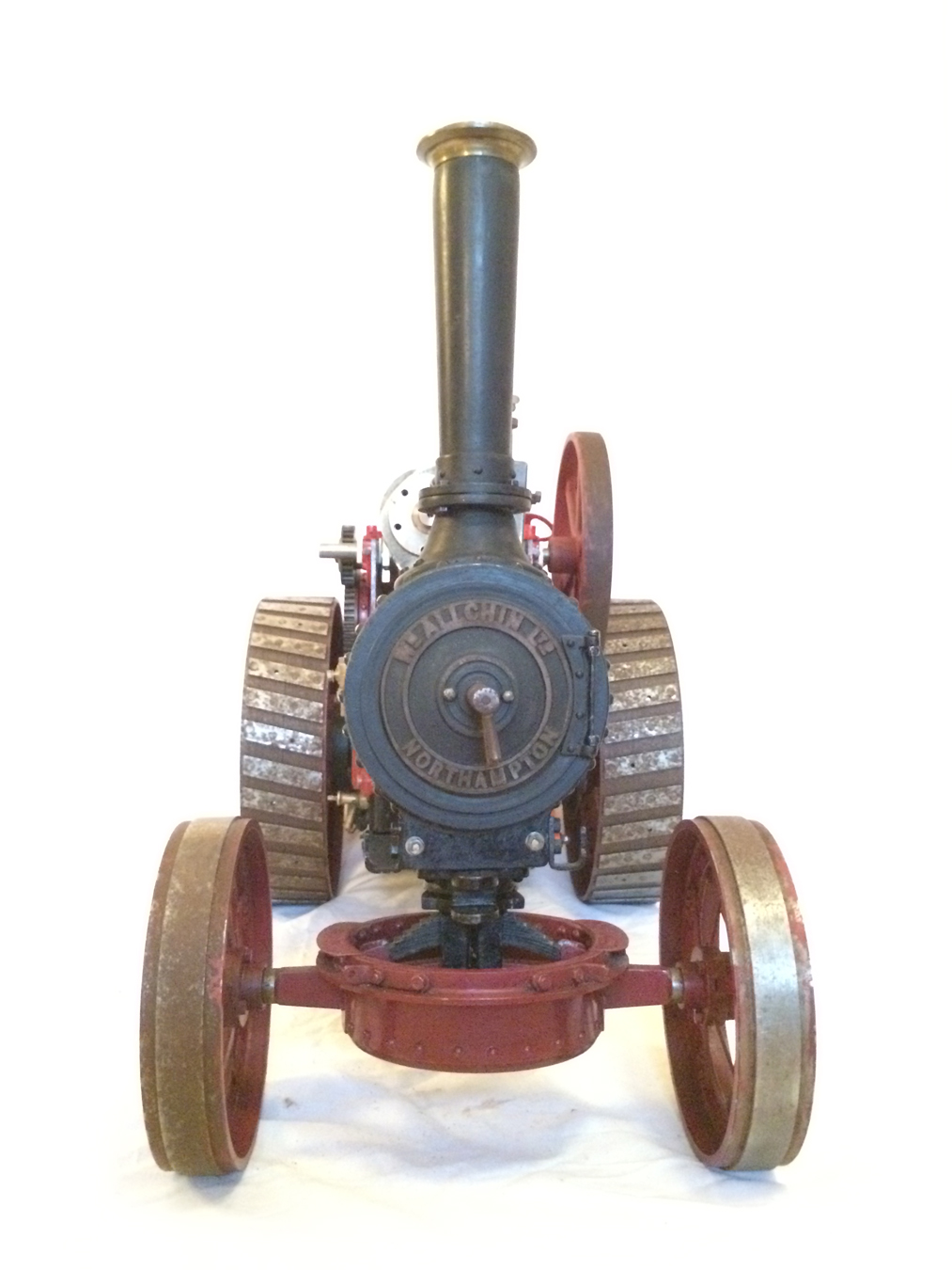 test Live Steam Royal Chester Traction Engine For Sale 08