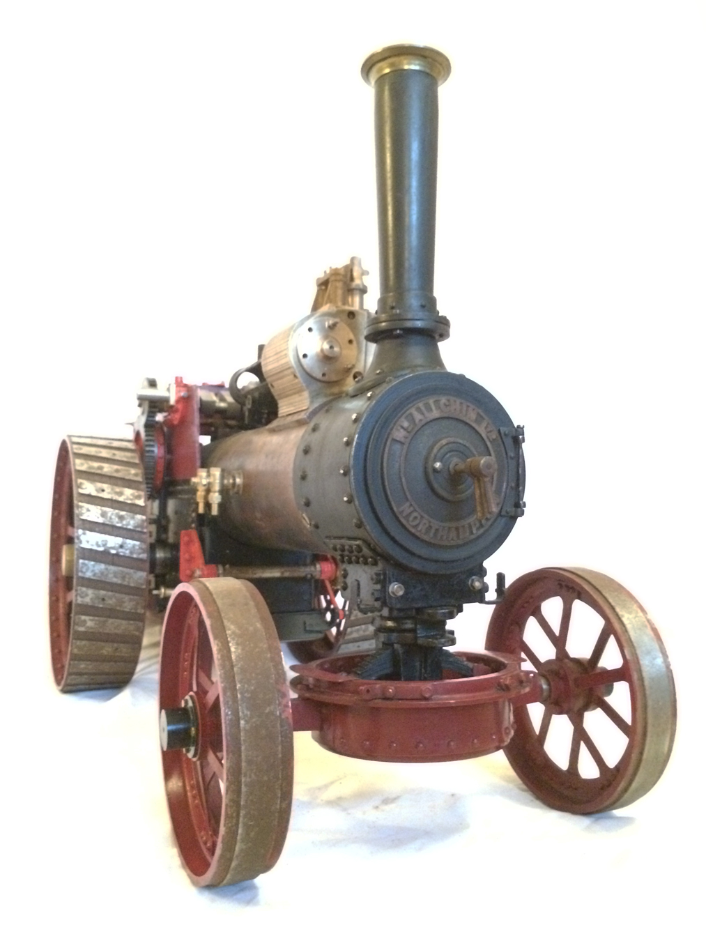 test Live Steam Royal Chester Traction Engine For Sale 10