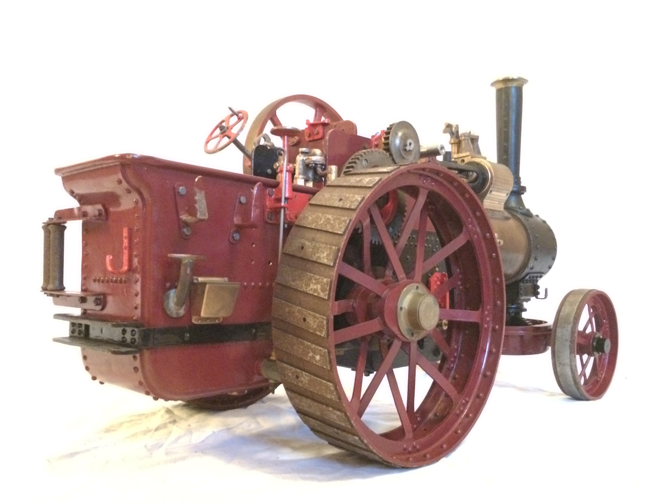 test Live Steam Royal Chester Traction Engine For Sale 15