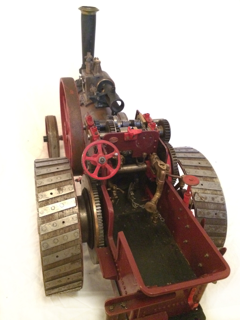 test Live Steam Royal Chester Traction Engine For Sale 17