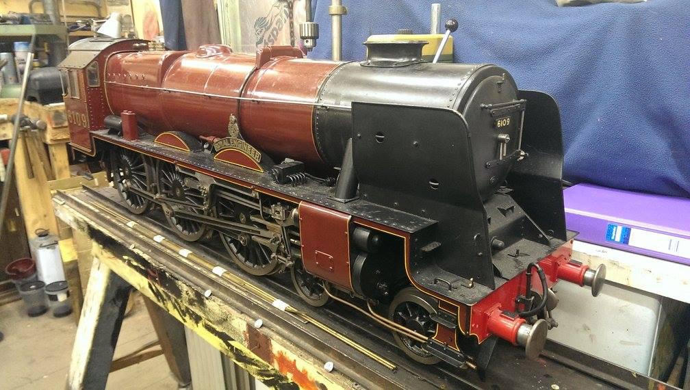 test 5 gauge rebuilt scott rebuild live steam not for sale