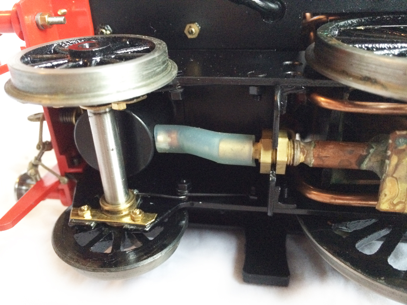test Gauge 1 LT&SR 4-4-2T Live Steam locomotive for sale 03