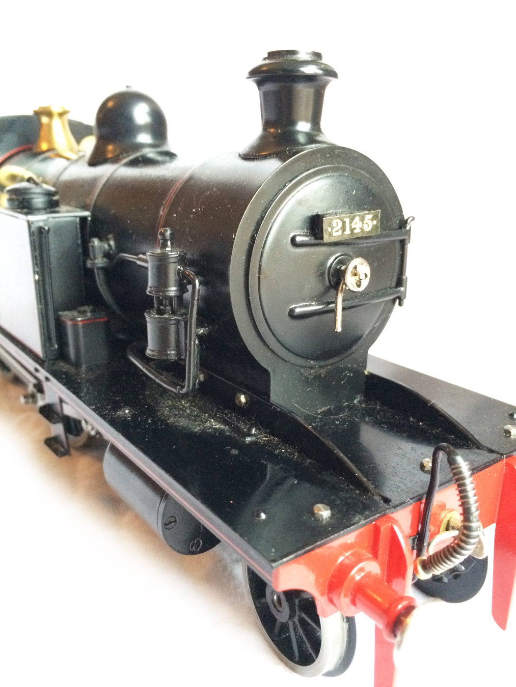 test Gauge 1 LT&SR 4-4-2T Live Steam locomotive for sale 06