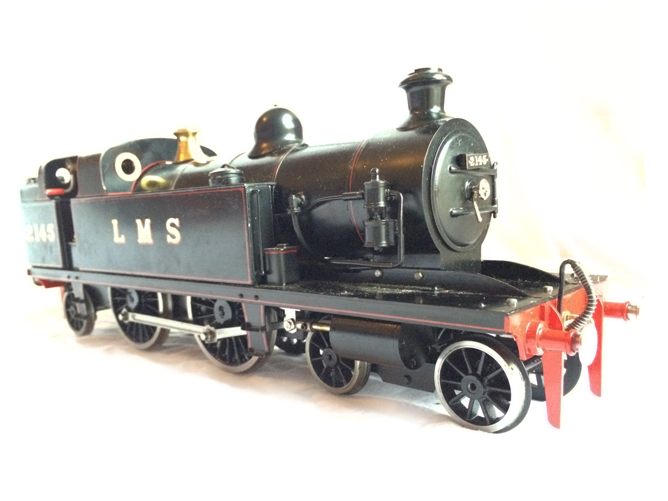test Gauge 1 LT&SR 4-4-2T Live Steam locomotive for sale 07