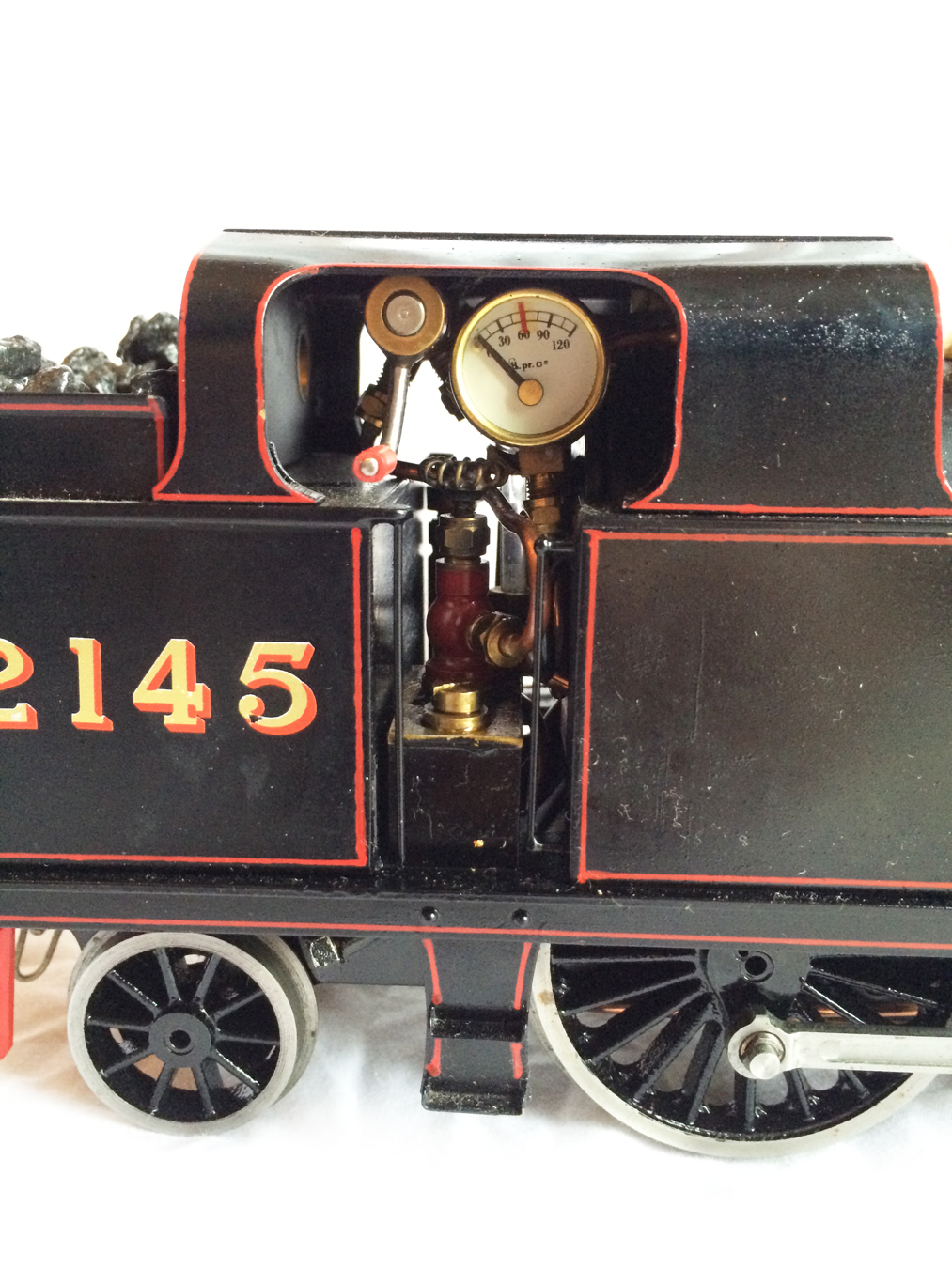 test Gauge 1 LT&SR 4-4-2T Live Steam locomotive for sale 08
