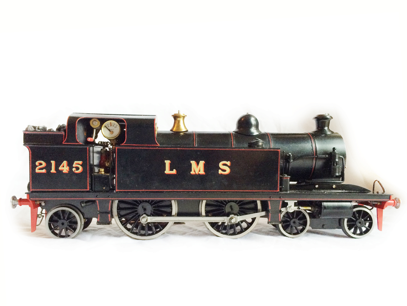 test Gauge 1 LT&SR 4-4-2T Live Steam locomotive for sale 09