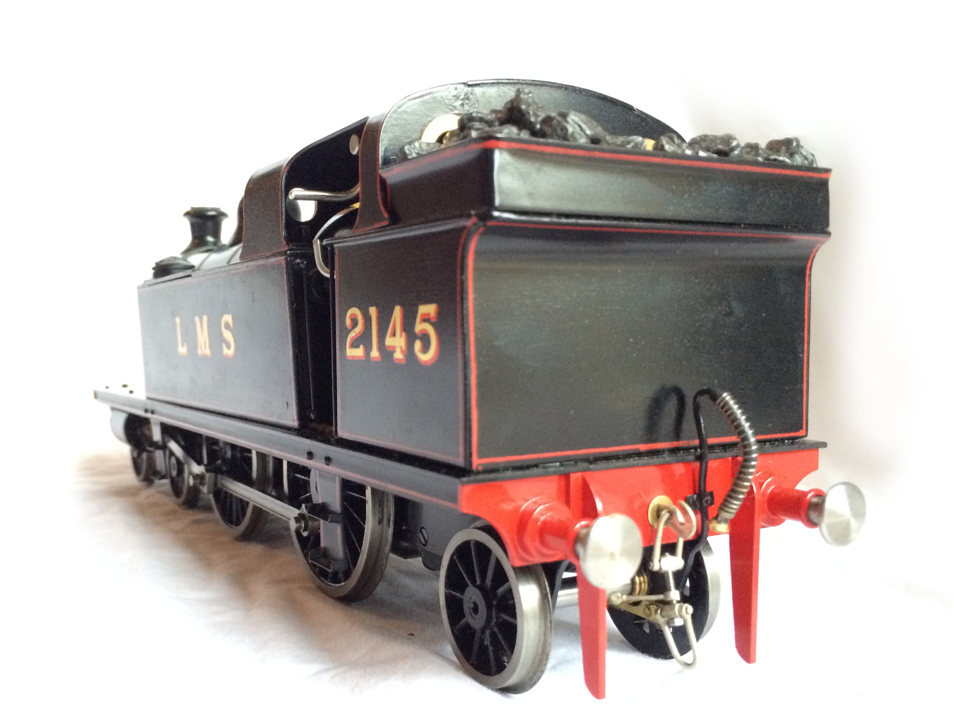 test Gauge 1 LT&SR 4-4-2T Live Steam locomotive for sale 11