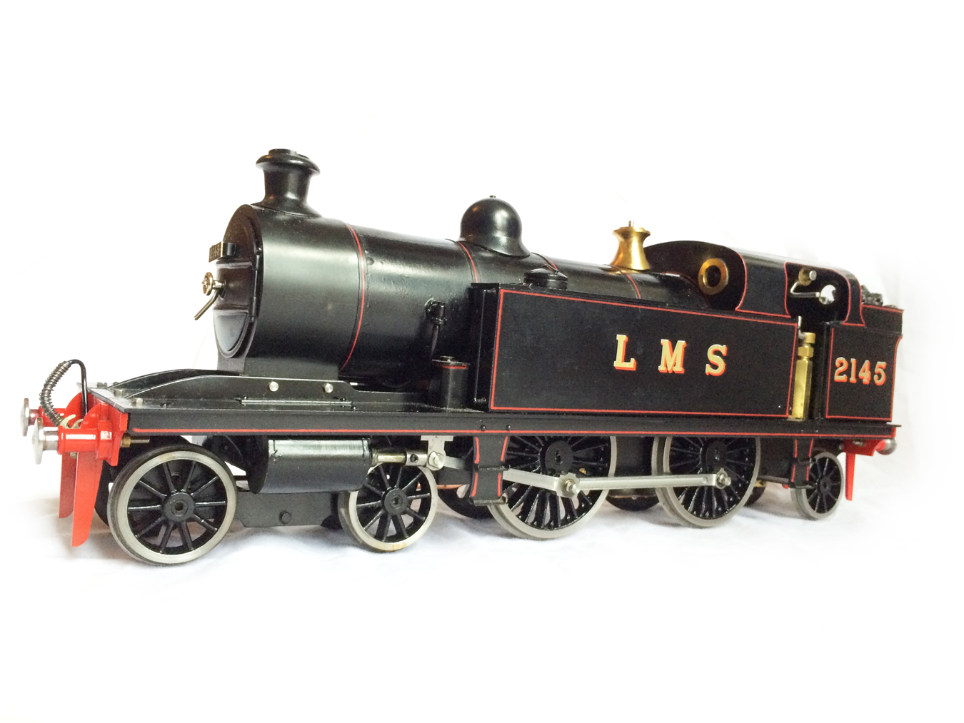test Gauge 1 LT&SR 4-4-2T Live Steam locomotive for sale 16