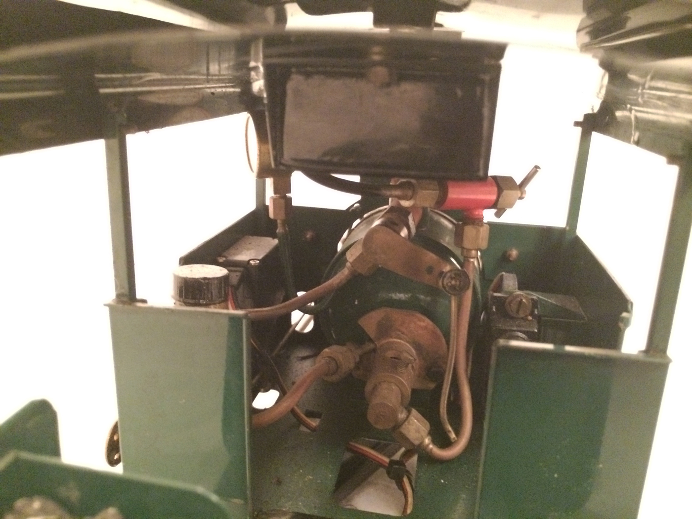 test Gauge 1 Roundhouse live steam fowler for sale 04
