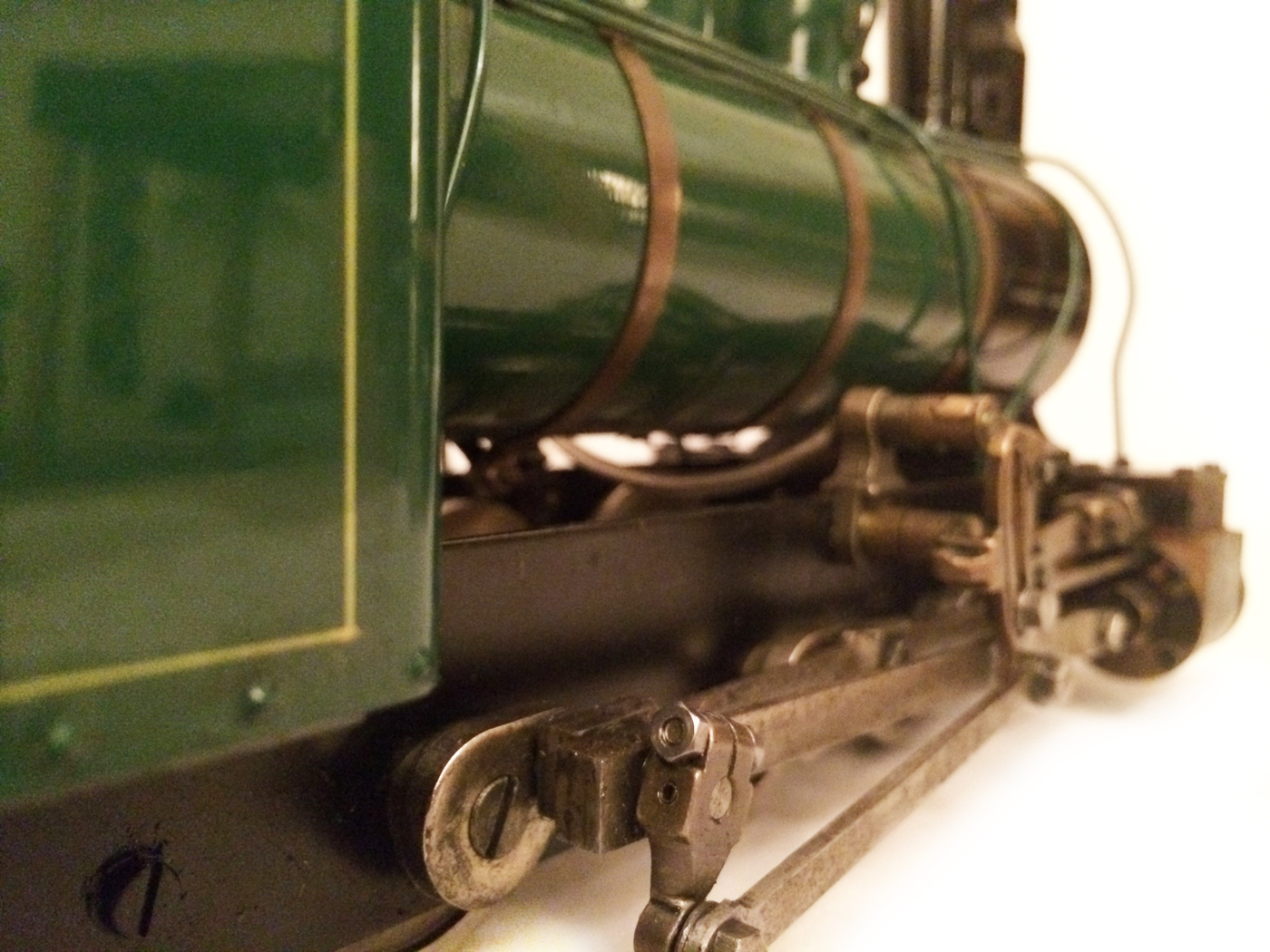 test Gauge 1 Roundhouse live steam fowler for sale 05
