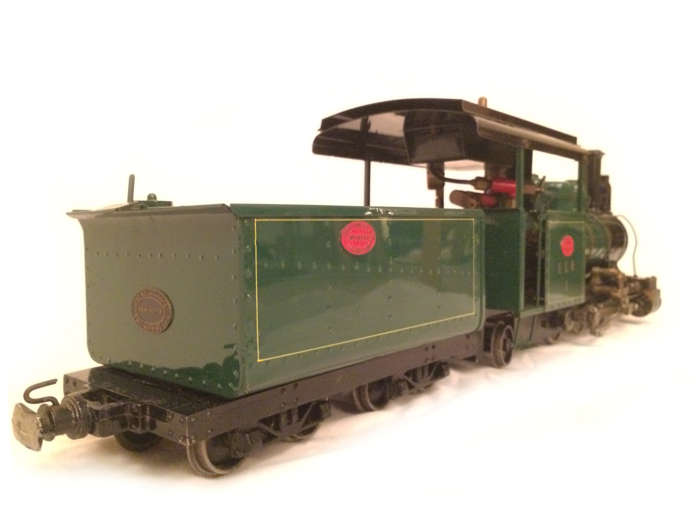test Gauge 1 Roundhouse live steam fowler for sale 07