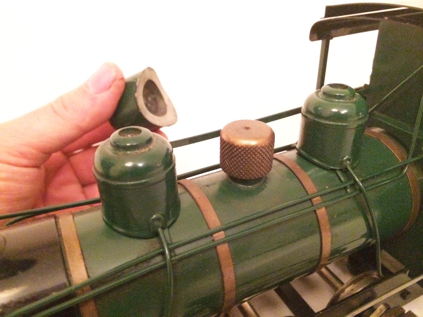 test Gauge 1 Roundhouse live steam fowler for sale 08