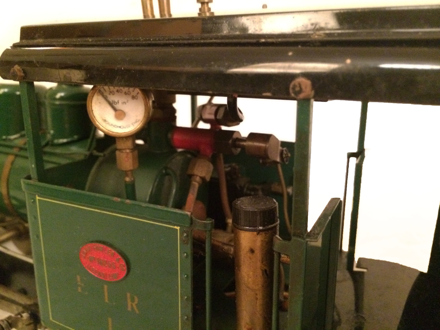 test Gauge 1 Roundhouse live steam fowler for sale 09