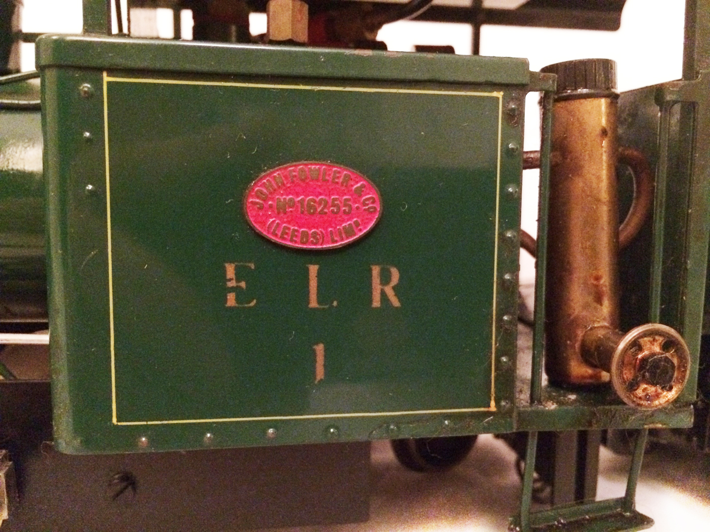 test Gauge 1 Roundhouse live steam fowler for sale 10