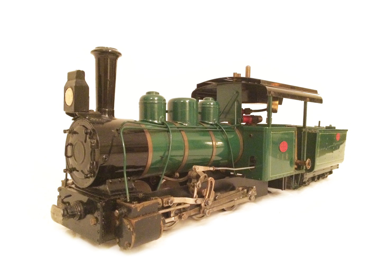 test Gauge 1 Roundhouse live steam fowler for sale 13