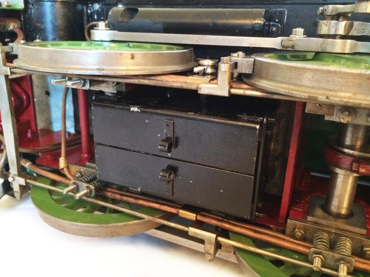 test Southern King Arthur live steam miniature locomotive for sale 02