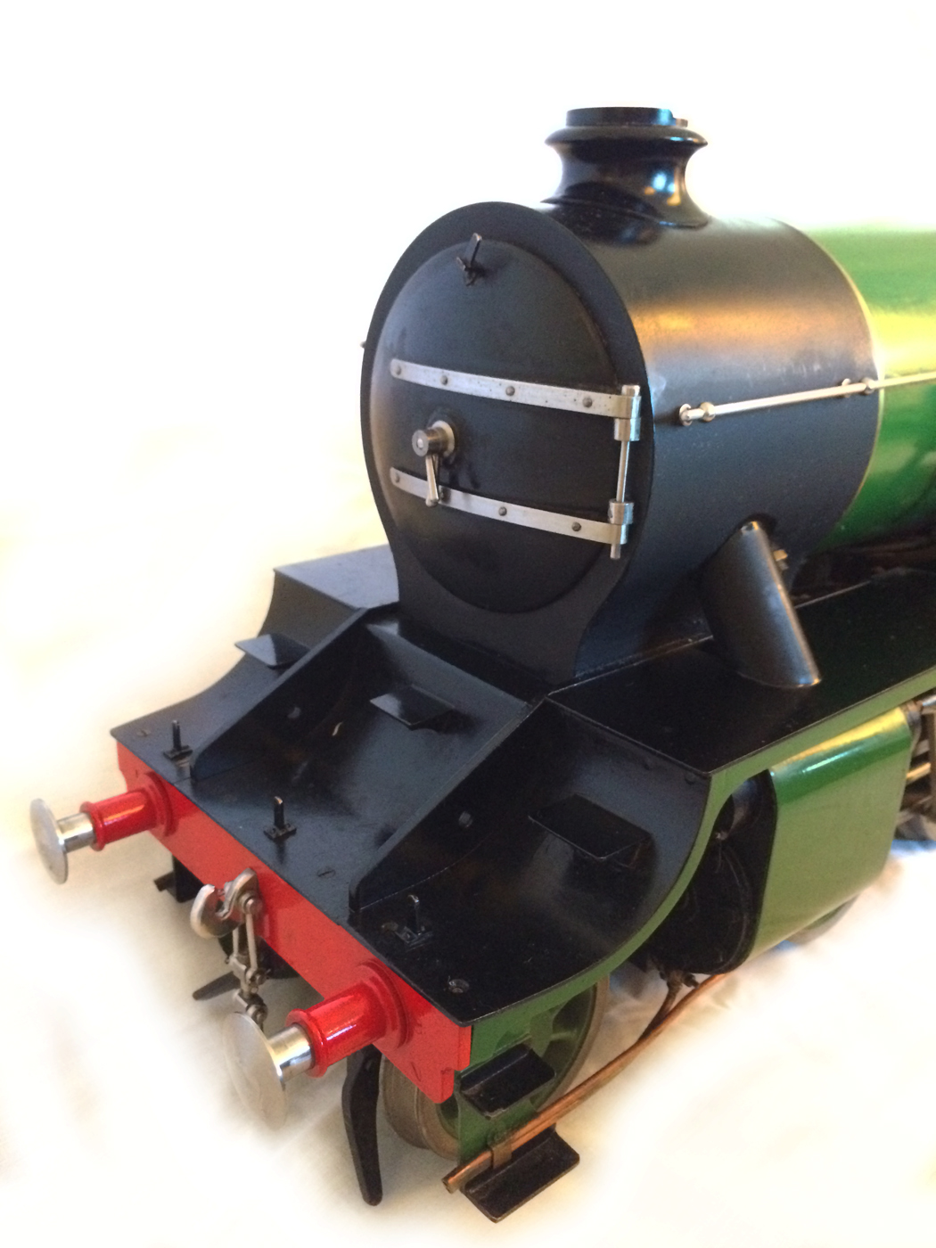 test Southern King Arthur live steam miniature locomotive for sale 06