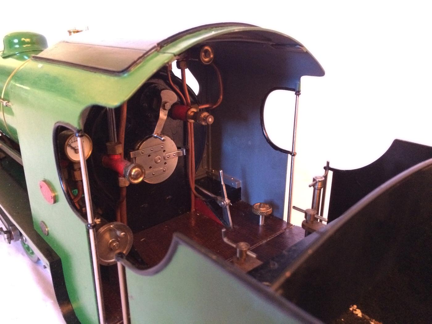 test Southern King Arthur live steam miniature locomotive for sale 09