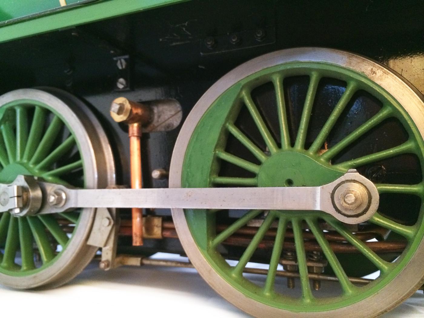 test Southern King Arthur live steam miniature locomotive for sale 11