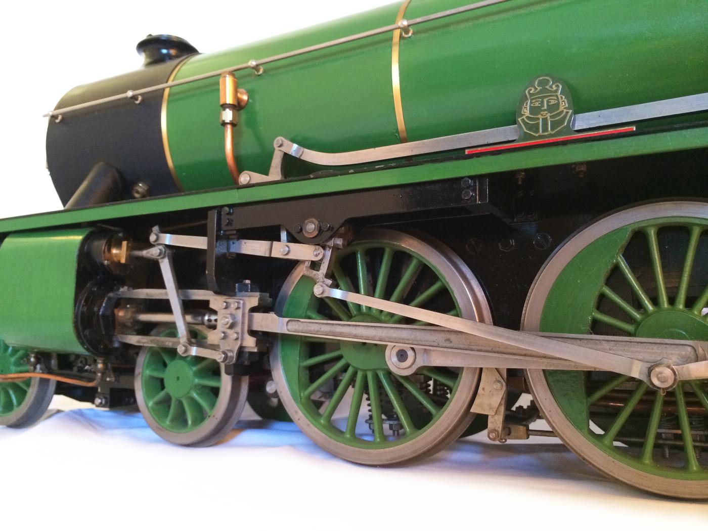 test Southern King Arthur live steam miniature locomotive for sale 12