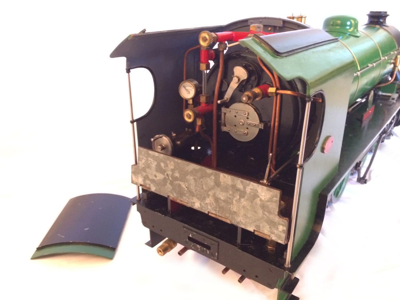 test Southern King Arthur live steam miniature locomotive for sale 20