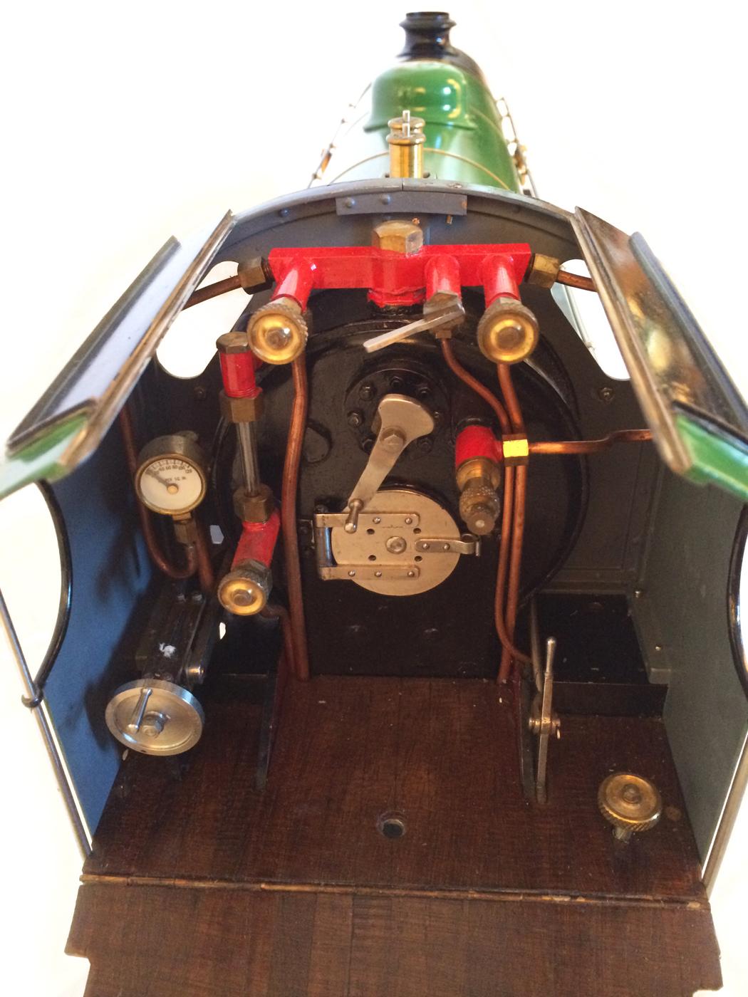 test Southern King Arthur live steam miniature locomotive for sale 21