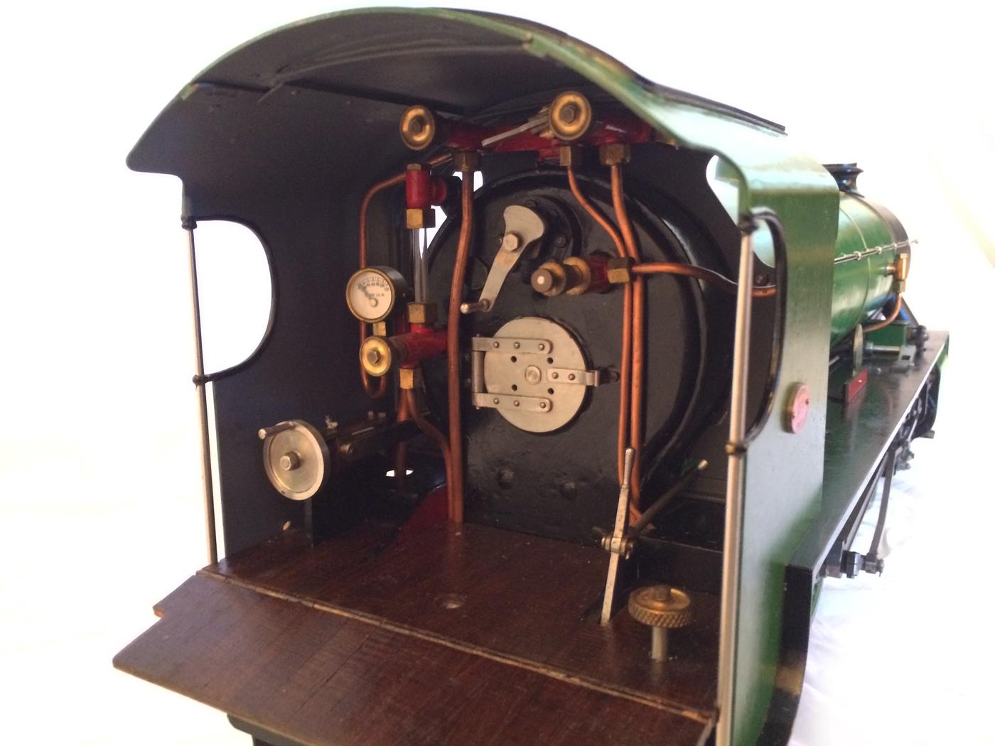 test Southern King Arthur live steam miniature locomotive for sale 22