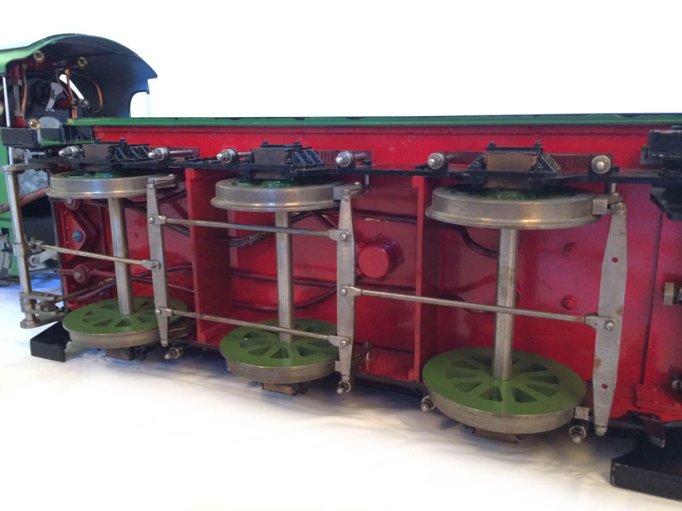 test Southern King Arthur live steam miniature locomotive for sale 24