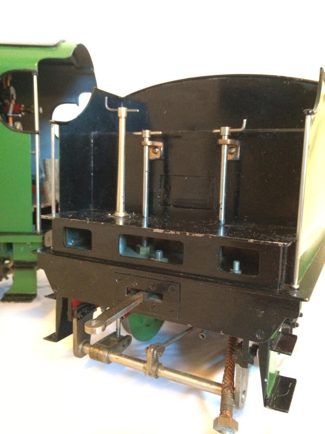 test Southern King Arthur live steam miniature locomotive for sale 25