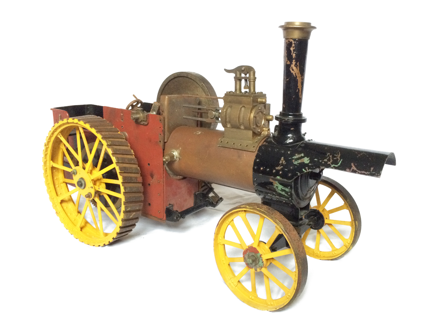 test 1 inch scale minnie showmans engine live steam for sale 02