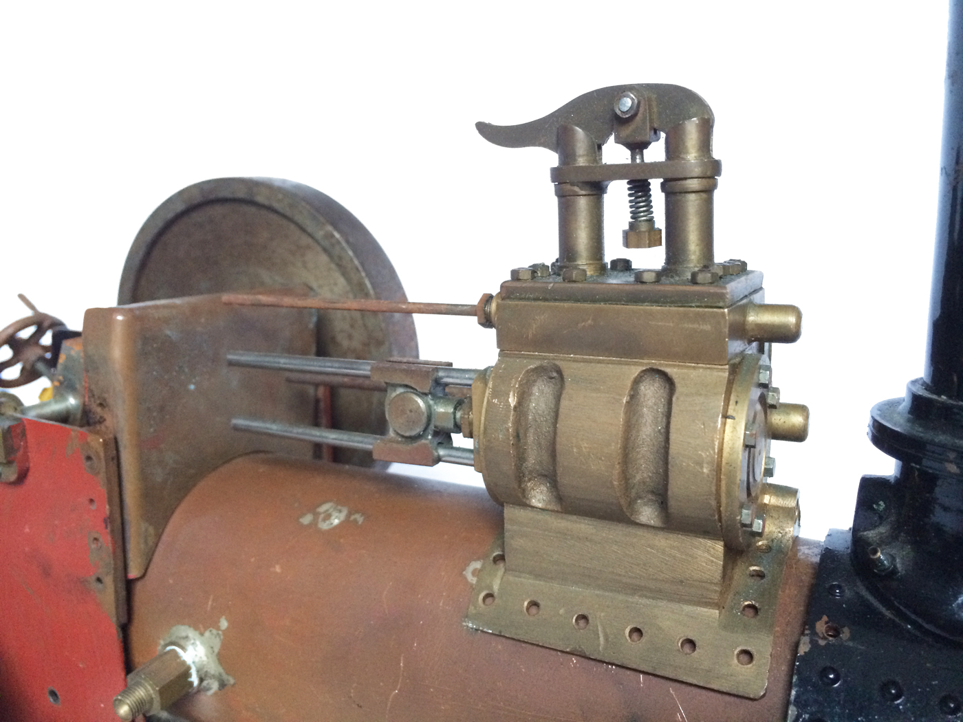 test 1 inch scale minnie showmans engine live steam for sale 03