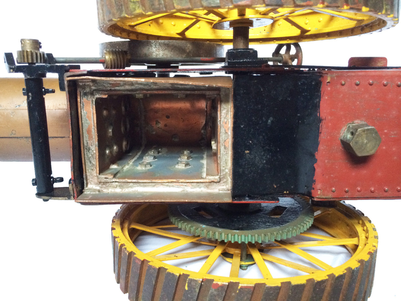 test 1 inch scale minnie showmans engine live steam for sale 05