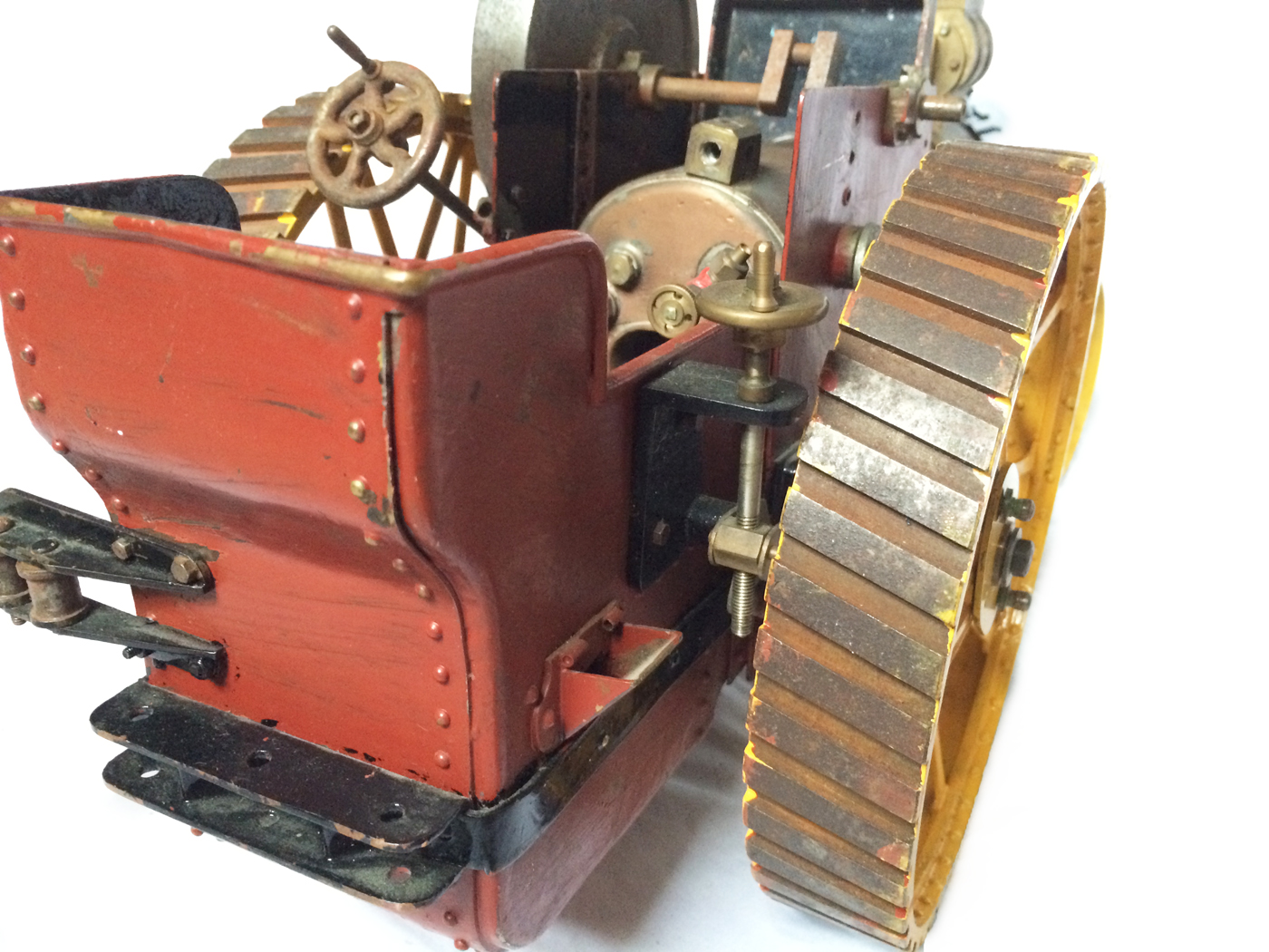 test 1 inch scale minnie showmans engine live steam for sale 08