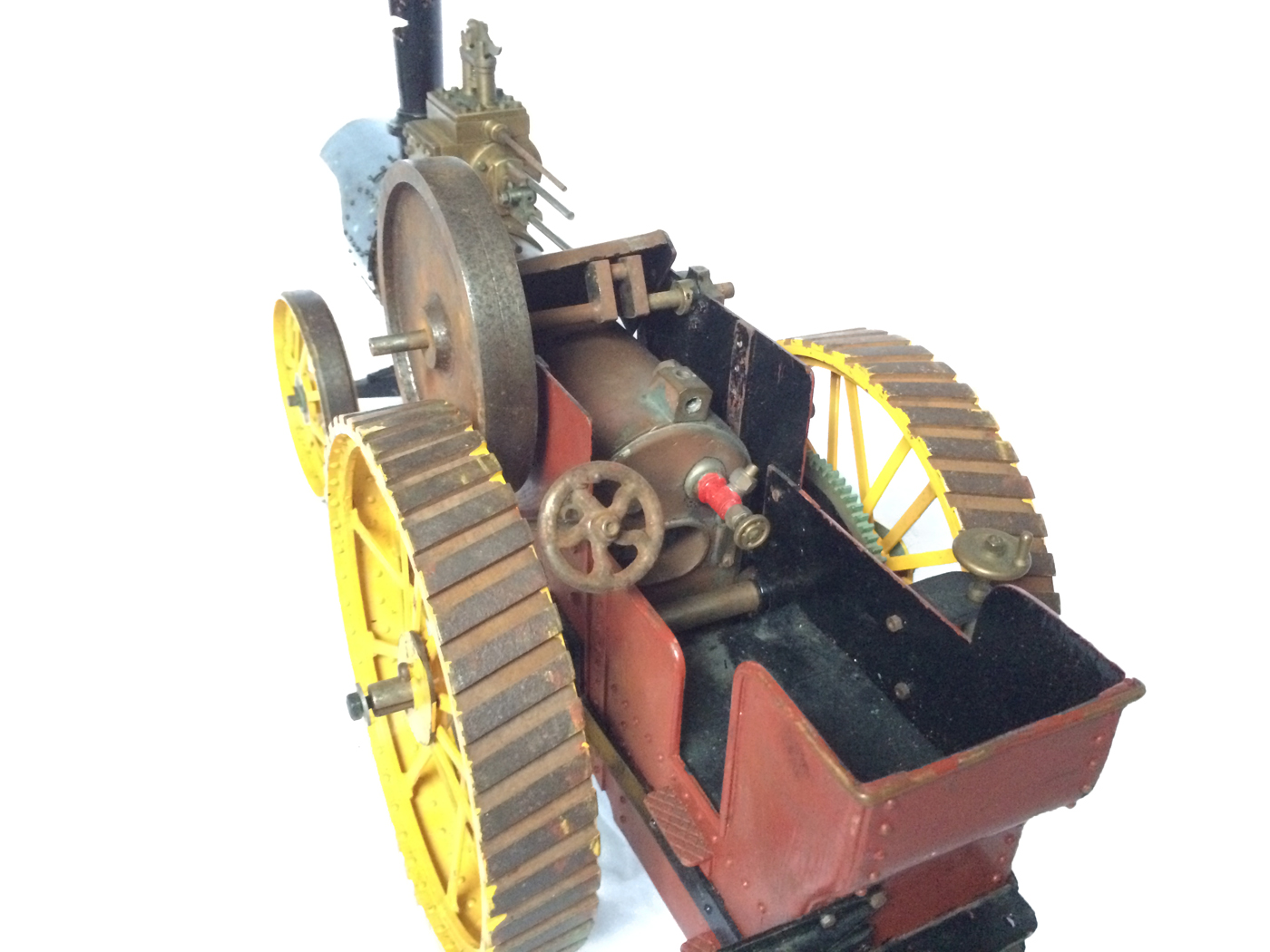 test 1 inch scale minnie showmans engine live steam for sale 12