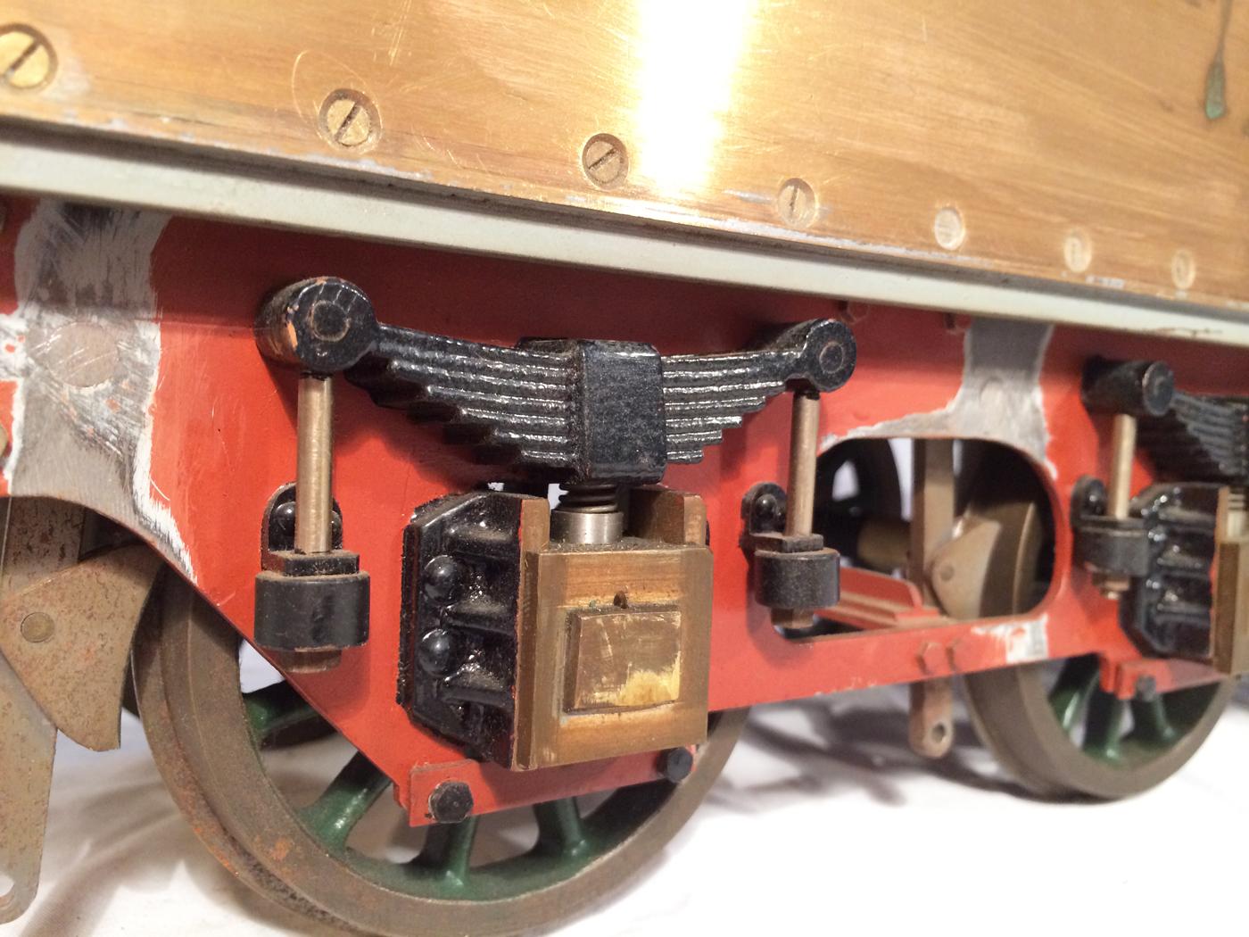 test 3 12 inch gauge stirling single live steam locomotive for sale 14