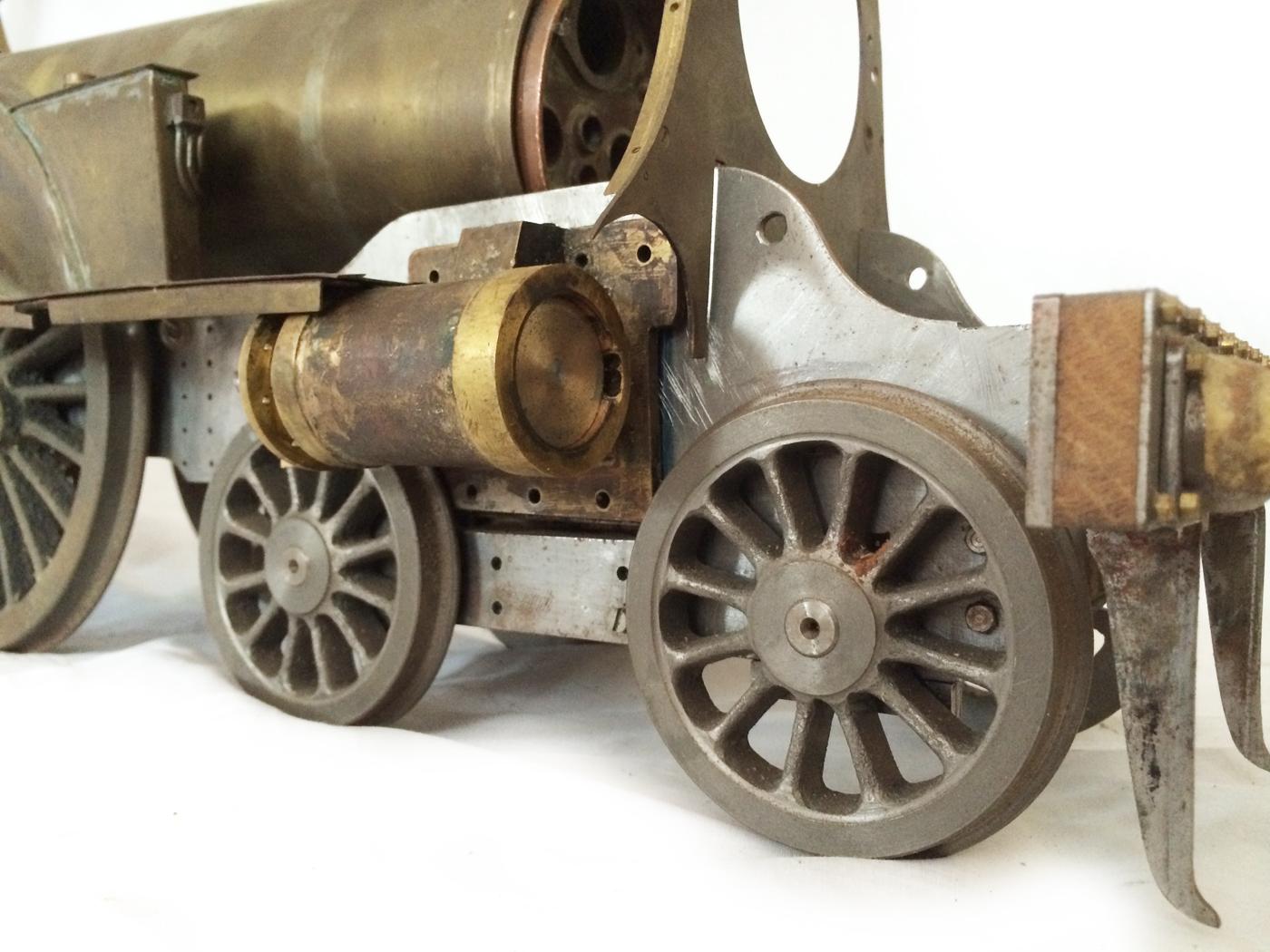 test 3 12 inch gauge stirling single live steam locomotive for sale 15
