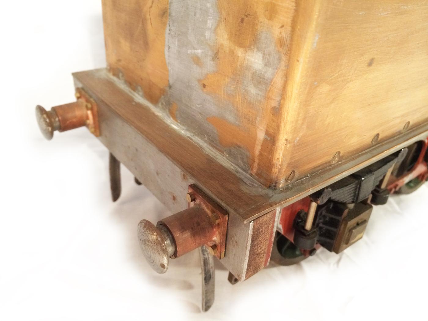 test 3 12 inch gauge stirling single live steam locomotive for sale 19