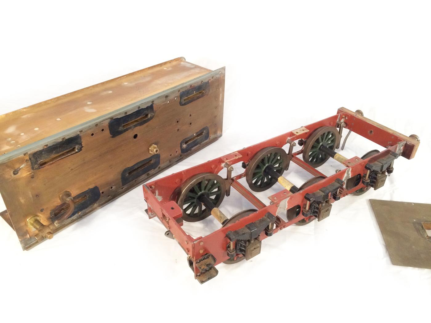 test 3 12 inch gauge stirling single live steam locomotive for sale 24