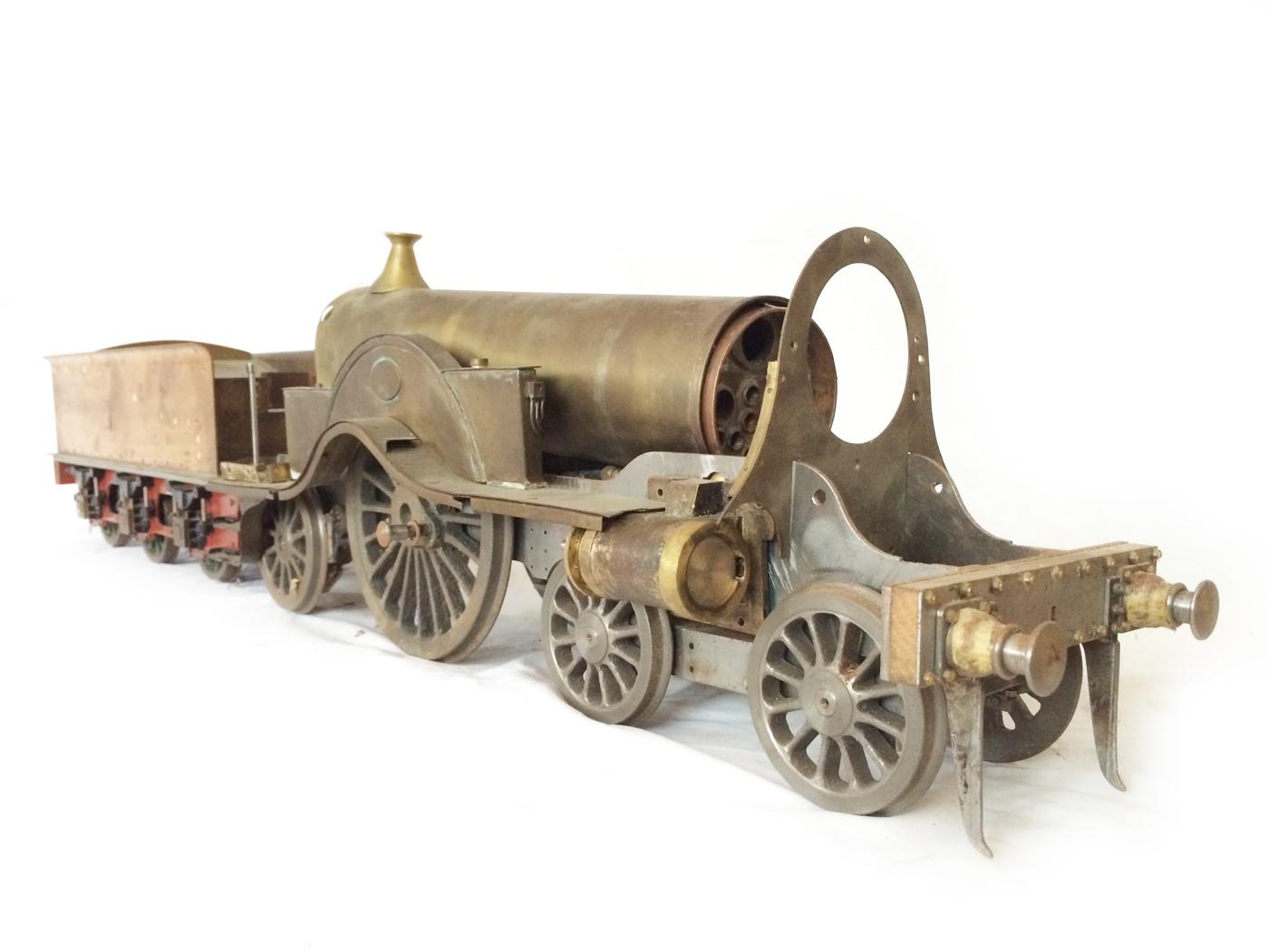 test 3 12 inch gauge stirling single live steam locomotive for sale 25
