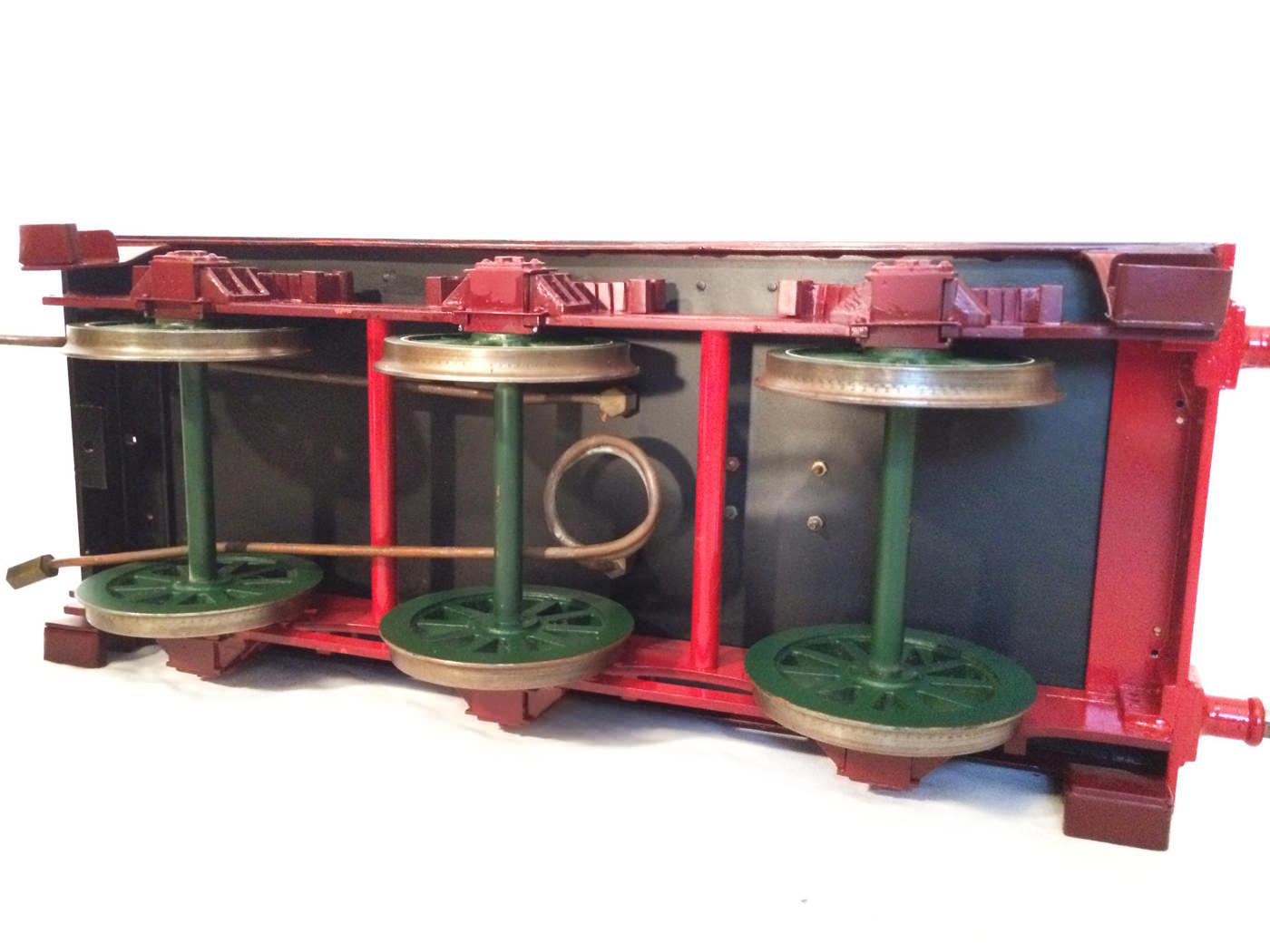 test 3 and a half inch gauge GCR Sir Sam Fay I Class live steam locomotive for sale 05