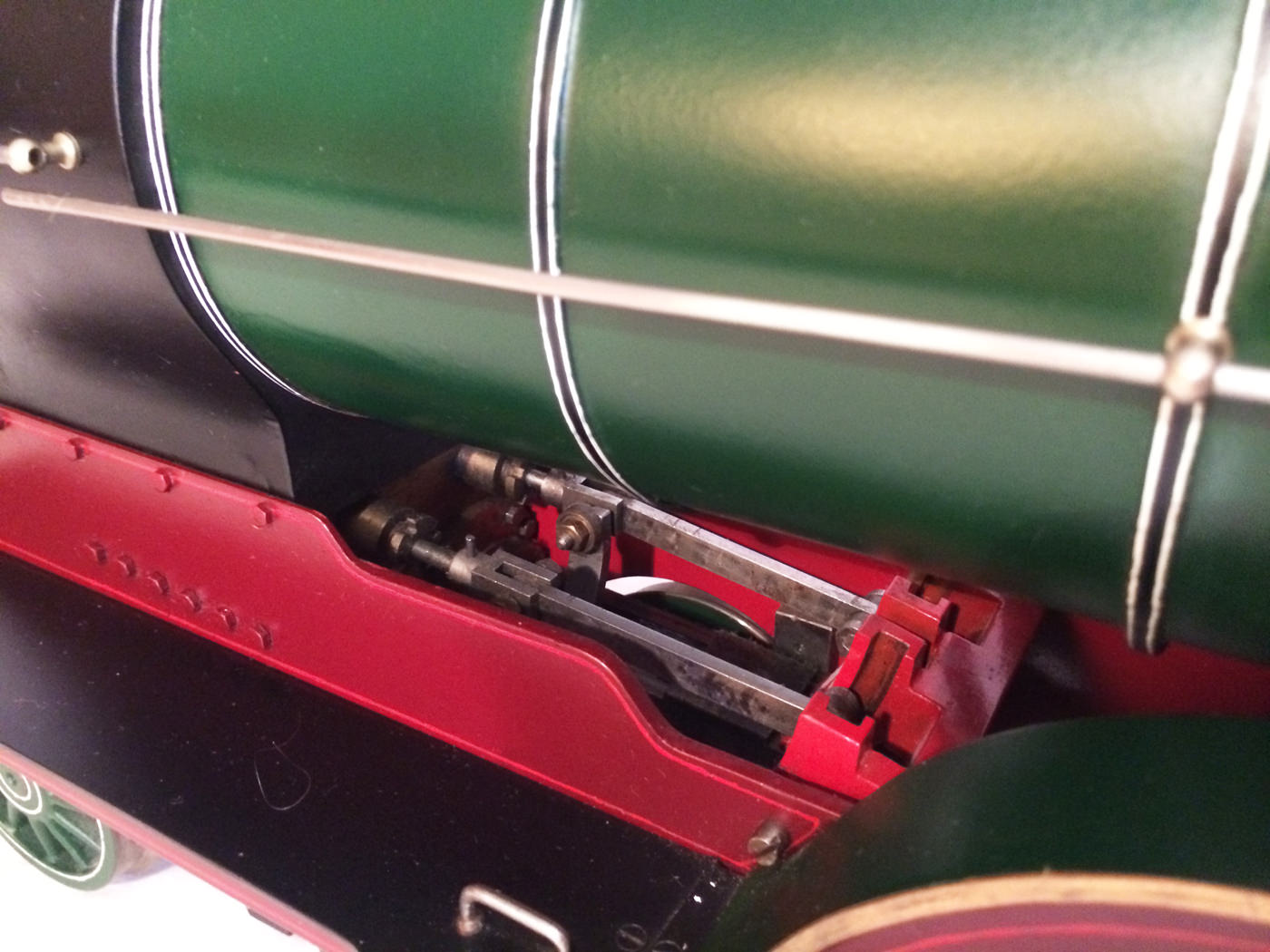 test 3 and a half inch gauge GCR Sir Sam Fay I Class live steam locomotive for sale 08
