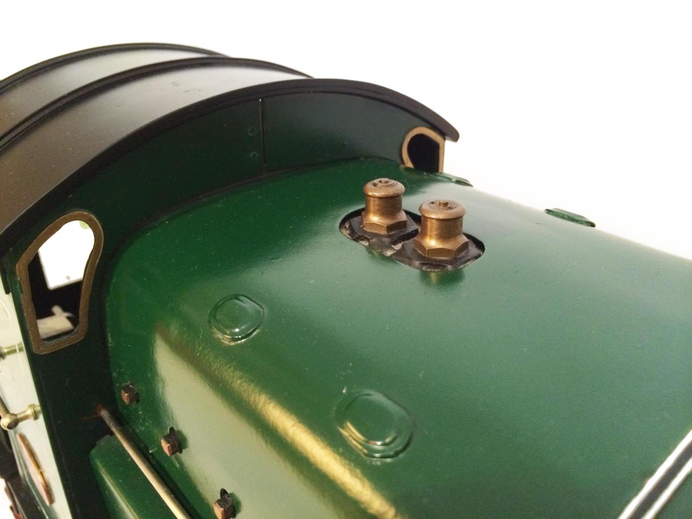 test 3 and a half inch gauge GCR Sir Sam Fay I Class live steam locomotive for sale 10