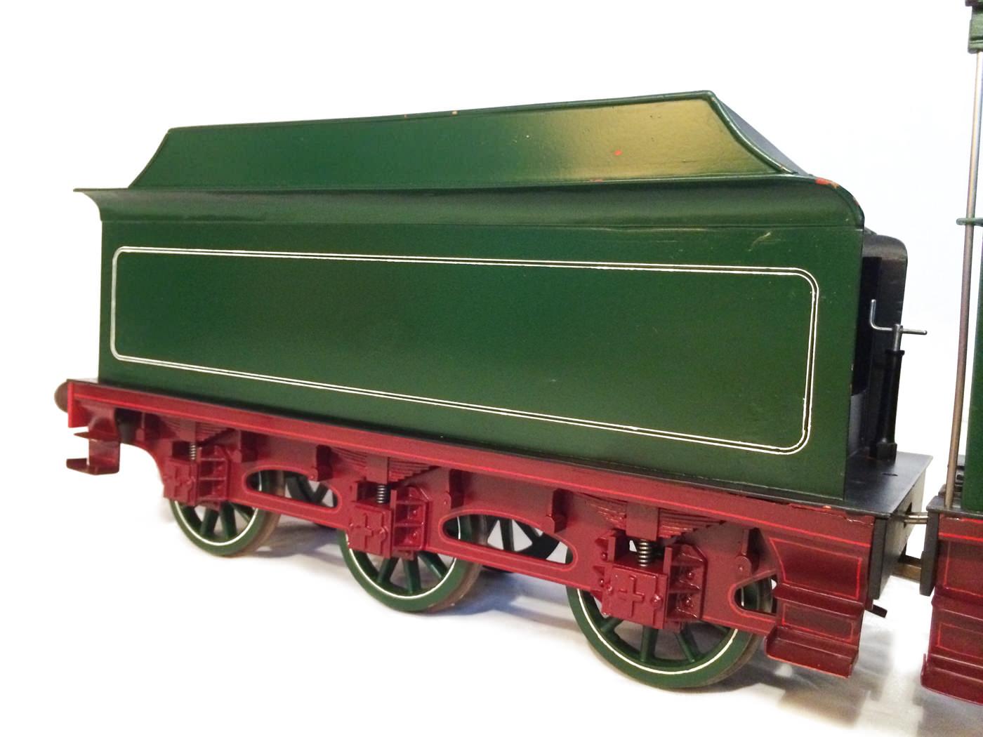 test 3 and a half inch gauge GCR Sir Sam Fay I Class live steam locomotive for sale 11