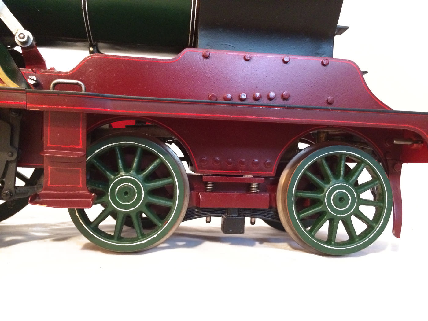 test 3 and a half inch gauge GCR Sir Sam Fay I Class live steam locomotive for sale 12