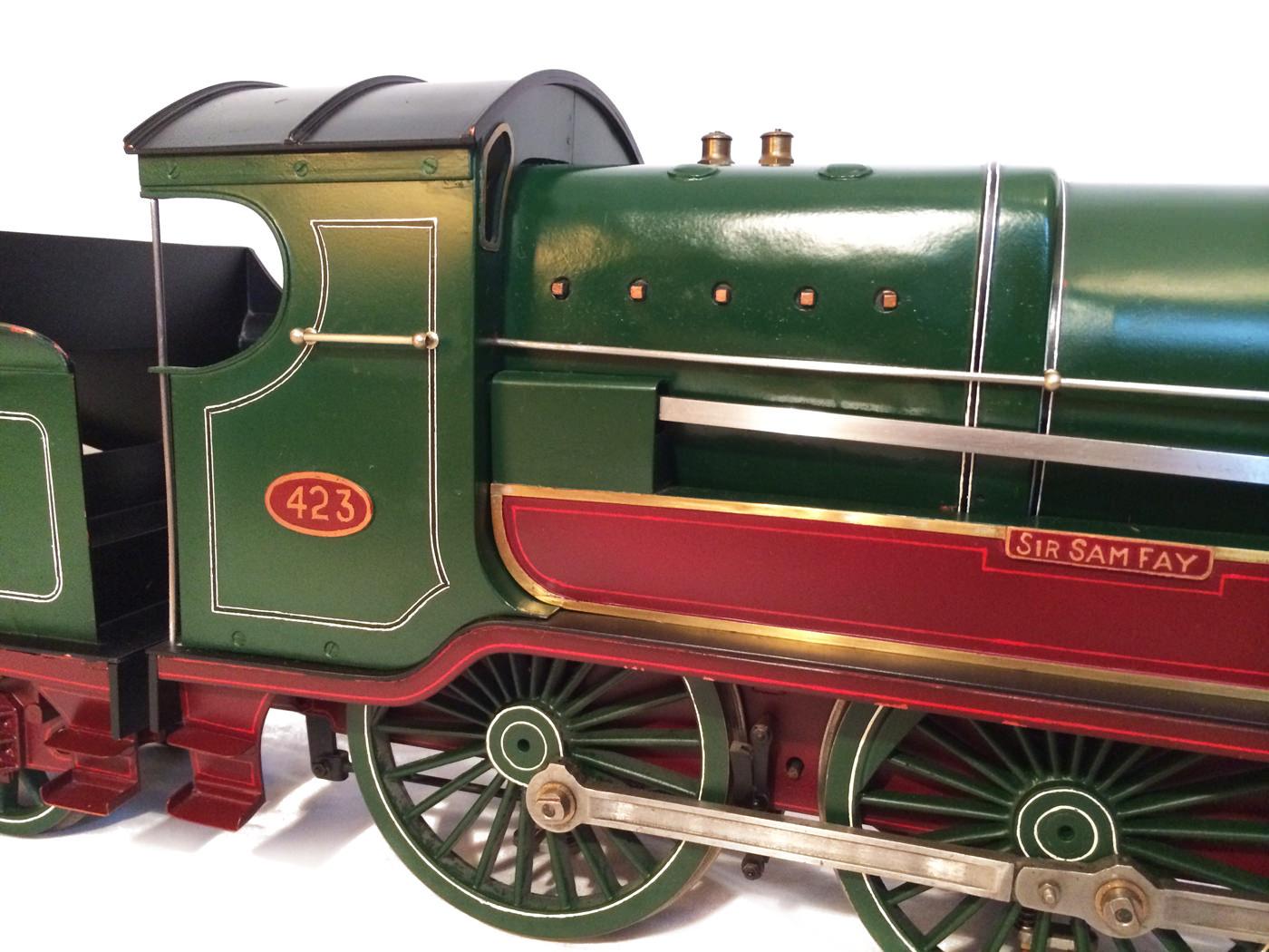 test 3 and a half inch gauge GCR Sir Sam Fay I Class live steam locomotive for sale 13